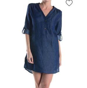 Adrienne tunic dress sz M